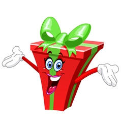 Cartoon gift vector