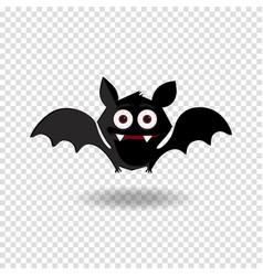 halloween clip art character of happy bat vector image