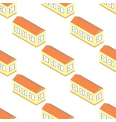 Long building pattern vector