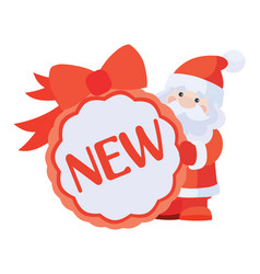New sticker for christmas sale vector