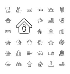 Real icons vector