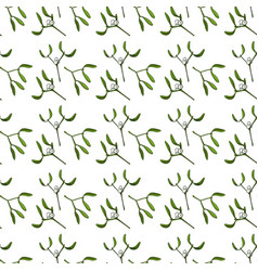 seamless pattern for christmas on a white vector image