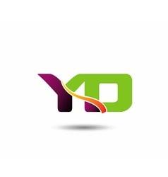 YD Logo vector image