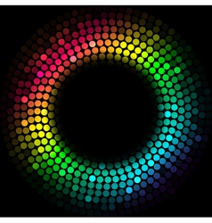 Colorful lights vector image vector image