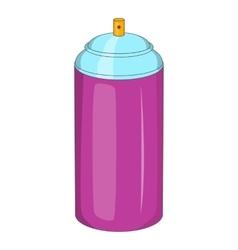 Spray paint icon cartoon style vector