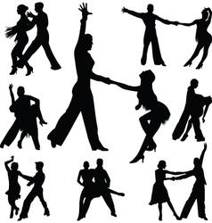 dance people vector image