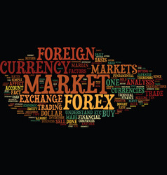 forex made easy for everyone text background word vector image vector image
