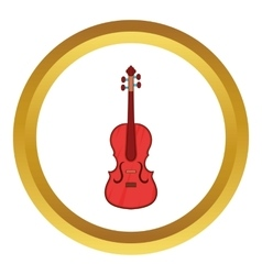 Cello icon vector