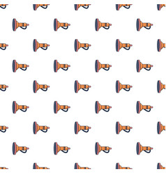 Cute toy trumpet pattern seamless vector