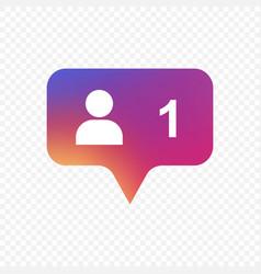 Follower icon vector