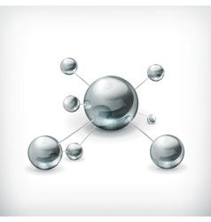 Molecule icon vector image