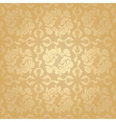 seamless background flowers floral pattern vector image