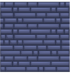 Seamless texture placing blue stone wall vector