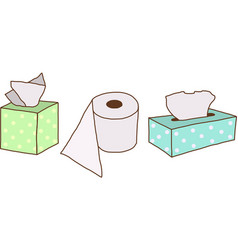 Tissue Paper vector image