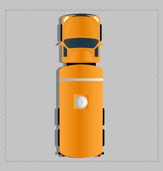 transporter vehicle vector image