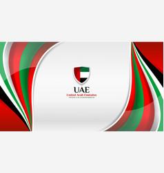 uae color background design vector image