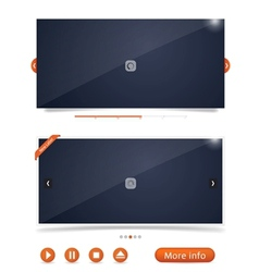 web design frames vector image