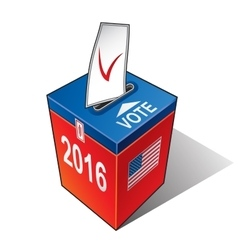 US elections 2016 vector image