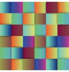 Colorful sqaures background vector image