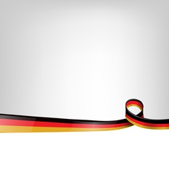 background with germany flag vector image vector image