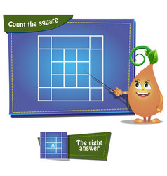 Count the squares 6 ansver vector