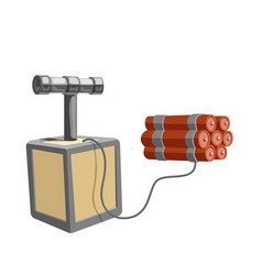 dynamite isolated icon vector image