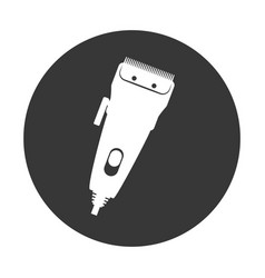 haircutting machine isolated vector image