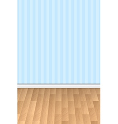 Wall and floor background vector