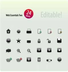 Web essentials two vector