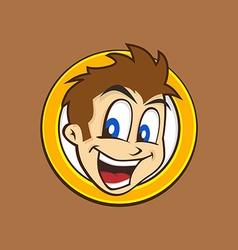 cartoon guy vector image