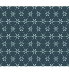 Snowflakes seamless pattern EPS 10 vector image