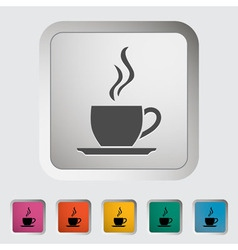 Cup of tea 2 vector image