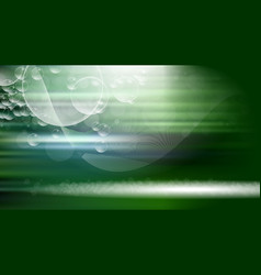 digital green abstract empty background vector image vector image