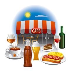 Cafe service vector