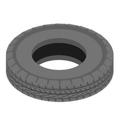 car tyre icon isometric style vector image