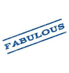 Fabulous Watermark Stamp vector image