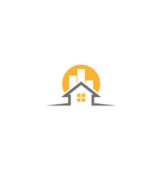 house logo home vector image