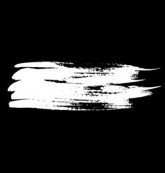 Ink brush stroke vector