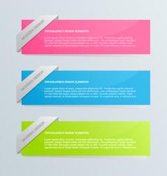 Modern inforgraphics template vector