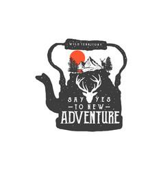 New adventure vector