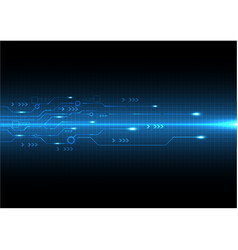 new circuit style technology background vector image