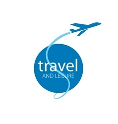 travel logo vector image