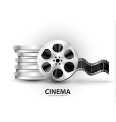 film reel vector image