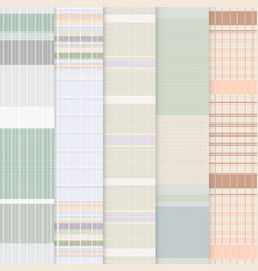 Thai loincloth pattern vector image vector image