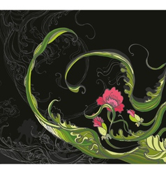 Flowers Poppy vector image vector image