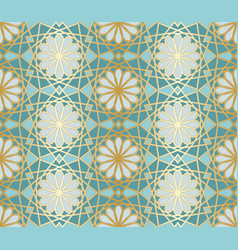 arabic seamless pattern traditional islamic vector image