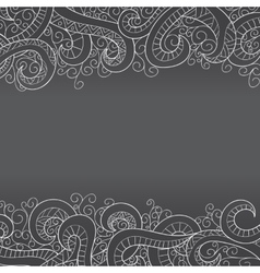 Background with doddle pattern vector