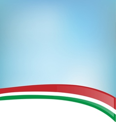 background with Italian flag vector image
