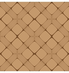 Beige and Brown Rectangle Seamless Pattern vector