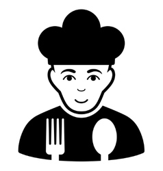 Cook Flat Icon vector